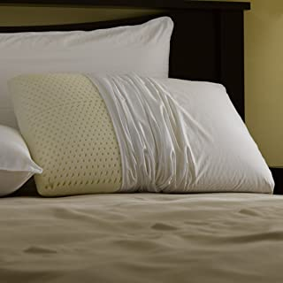 Michael Anthony Furniture Restful Nights Even Form Latex Pillow Queen-Size Synthetic Pillows