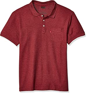 Men's Rillo Short Sleeve, Collared, Classic Fit Knit Shirt