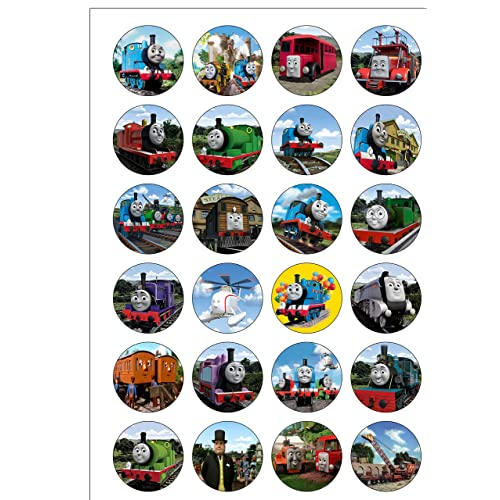photo relating to Free Printable Thomas the Train Cup Cake Toppers identified as Thomas Cake Toppers: .united kingdom