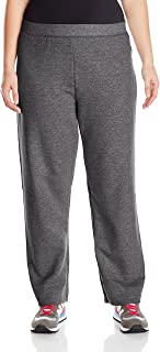 Just My Size Women's Plus-Size Fleece Sweatpant, Slate Heather, 5XL
