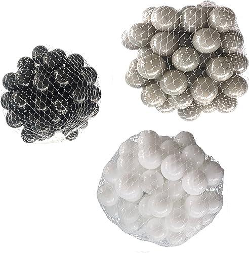 diseño único Pelotas Pelotas Pelotas para pelotas baño variadas Mix con Color blanco, gris y negro Talla 6000 Stück  calidad de primera clase