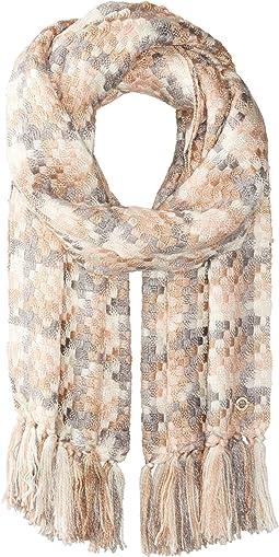 Calvin Klein - Long Fringe Blanket Scarf