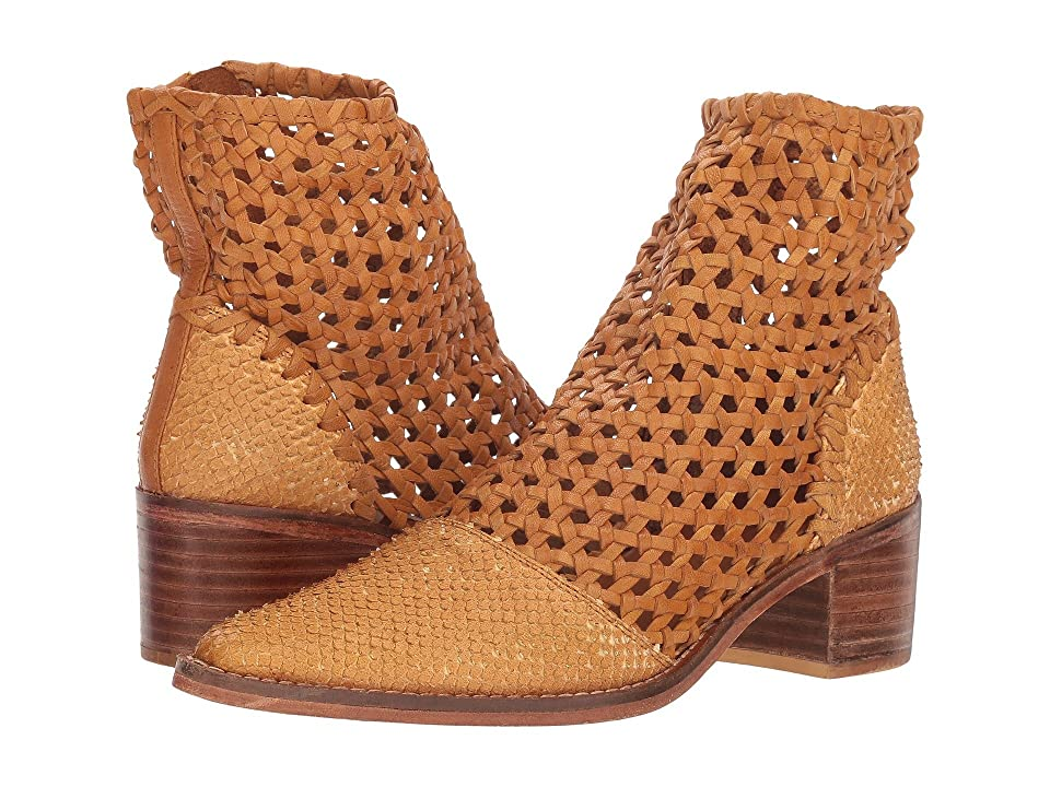 Free People In the Loop Woven Boot (Taupe) Women