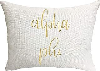 Alpha Phi Sorority Throw Pillow