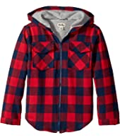 Hatley Kids - Plaid Lumber Flannel Jacket (Toddler/Little Kids/Big Kids)