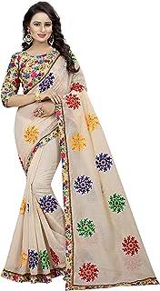 Shreeji Designer Chanderi Cotton Saree 0