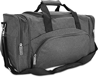Signature Travel or Gym Duffle Bag in (Black, Gray, Navy Blue Red)
