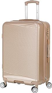 22d485019 Verage Firestone Cabin Size Hard Trolley Suitcase for Travel - 20 Inch Beige