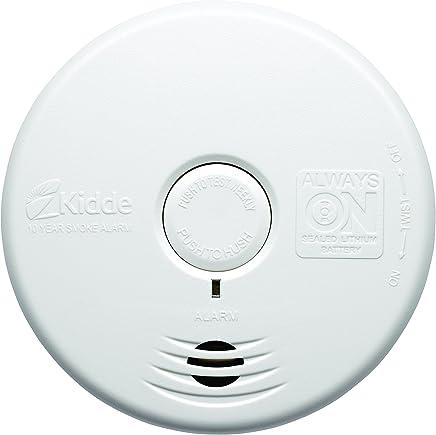 Kidde 002518.0022 WFP Detector de humo óptico con batería de litio integrada para toda la vida