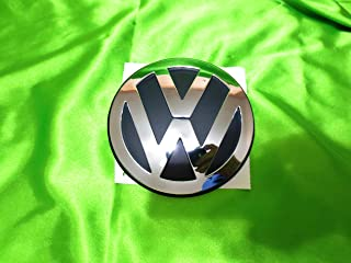 2006-2010 VW Volkswagen Beetle Front Hood Emblem Decal Chrome GENUINE OEM NEW 1C0-853-617-B-ULM