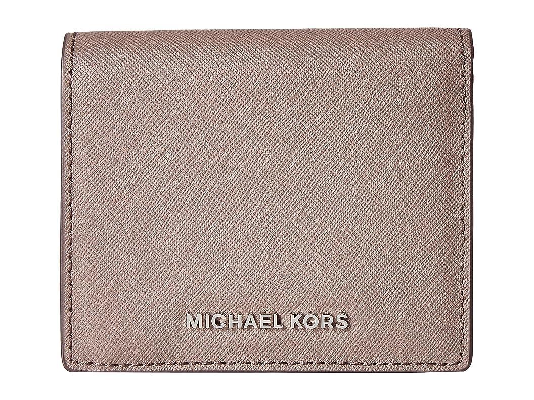 パンツ操る発生する[マイケルコース] MICHAEL Michael Kors レディース Jet Set Travel Carryall Card Case ウォレット Cinder [並行輸入品]