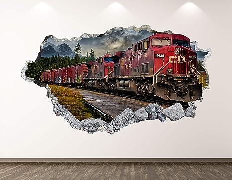 Wall Tattoo Mural Wall Sticker Wall Sticker WELCOME DEBIT Trains