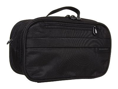 Briggs & Riley Baseline Expandable Toiletry Kit (Black) Toiletries Case