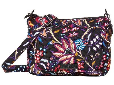 Vera Bradley Carson Mini Shoulder Bag (Foxwood) Cross Body Handbags