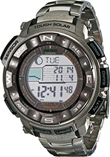 Men's Pro Trek PRW2500T Tough Solar Digital Sport Watch