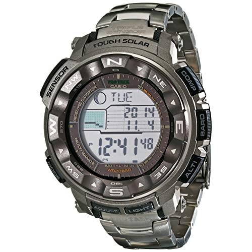Casio Mens Pro Trek PRW2500T Tough Solar Digital Watch