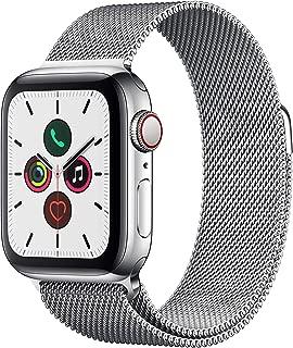 Apple Watch Series 5(GPS + Cellularモデル)- 40mmステンレススチールケースとミラネーゼループ