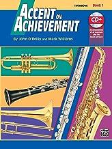 Best accent on achievement book 1 trombone Reviews