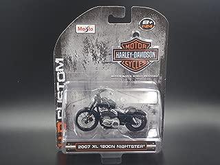2007 XL 1200N NIGHTSTER HARLEY DAVIDSON MOTORCYCLE MAISTO 1:24 DIECAST MODEL