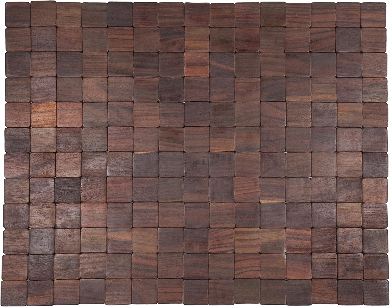 Entryways Mather Exotic Wood Mat, Natural