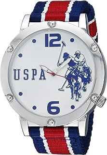 U.S. Polo Assn. Men's Analog-Quartz Watch with Nylon...