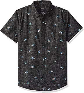 RVCA Boys' Scattered Printed Shirt