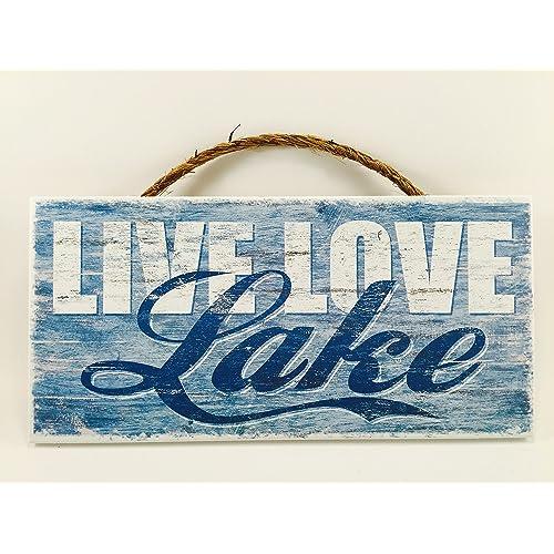 Funny Lake Signs: Amazon.com