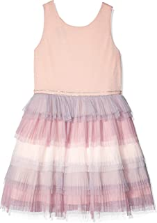 Amy Byer Girls' Big Tiered Mesh Party Dress