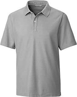 Cutter & Buck Mens BCK00158 Men's Big & Tall Short Sleeve Breakthrough 2 Button Polo Short Sleeves Polo Shirt