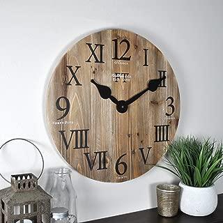 FirsTime & Co. Rustic Barn Wall Clock, 18