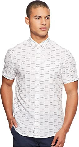 Original Penguin - Short Sleeve 8-Bit Dobby Shirt