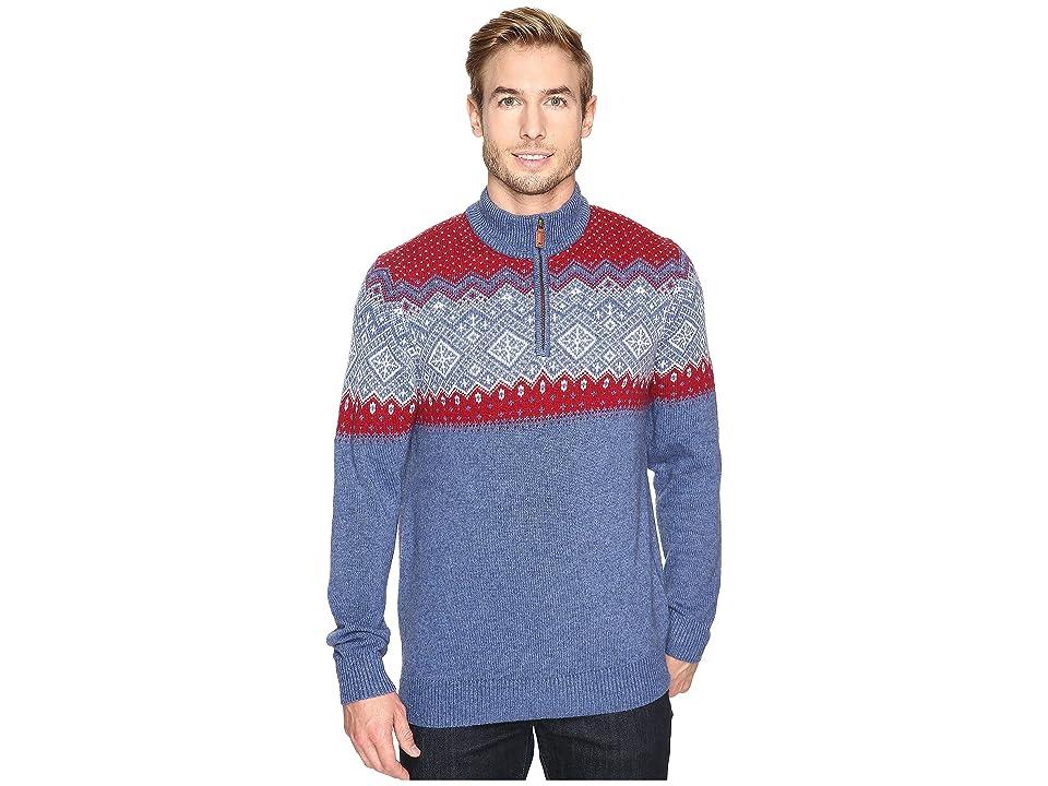 Vineyard Vines Holiday Fair isle Sweater (Moonshine) Men