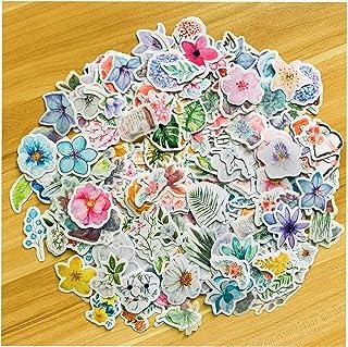 440 Plantes Feuilles Stickers, NEITWAY Autocollants pour Scrapbooking Motif Plantes Tropicales Florales, pour Enveloppes, ...
