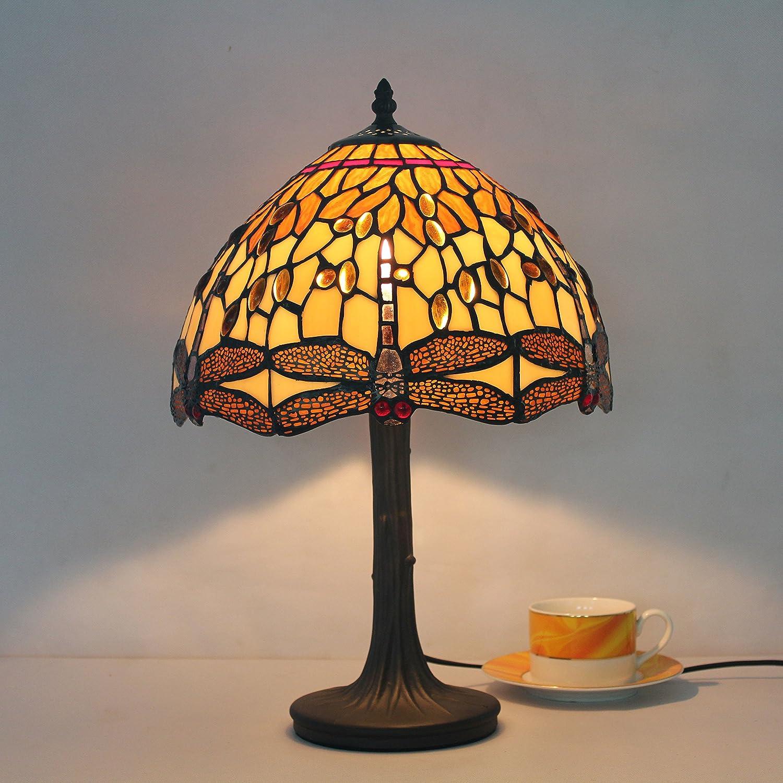 BOBE 12 inch Europäischen minimalistischen Schlafzimmer Schlafzimmer Schlafzimmer Nacht Libelle Glasperlen -Lampe B072N544S5     | Qualitativ Hochwertiges Produkt  306625