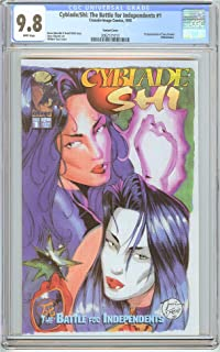 Cyblade/Shi #1 Variant CGC 9.8 White Pages 2062121013 1st Witchblade