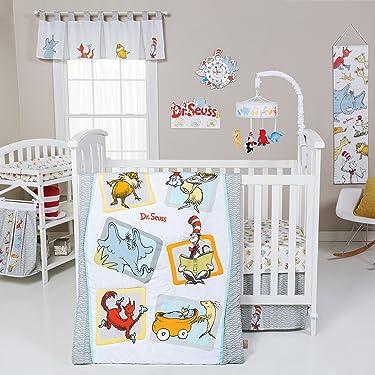 Trend Lab Dr. Seuss Friends 5Piece Crib Bedding Set, Multi (30016)