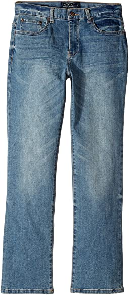 Five-Pocket Classic Straight Stretch Denim Jeans in Eastvale (Big Kids)