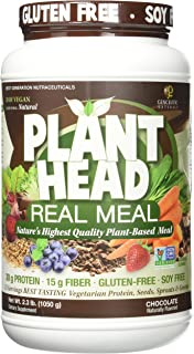 Genceutic Naturals Chocolate Plant Head Real Meal, 2.3 Pound