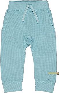Loud + Proud Hose in Feiner Waffelstruktur, Gots Zertifiziert Pantalons Mixte bébé