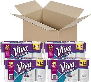 VIVA Vantage Choose-A-Sheet* Paper Towels, White, Giant Roll,