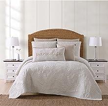 Oceanfront Resort Qs2364Sgfq-2300 Full/Queen Quilt Set, Grey