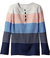 Splendid Littles - Yarn-Dye Stripe Sweater Knit Top (Little Kids/Big Kids)