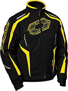 Castle X Blade G3 Mens Snowmobile Jacket - Yellow (SML)