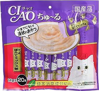 チャオ (CIAO) 猫用おやつ ちゅ~る かつお ほたてミックス味 14g×20本入
