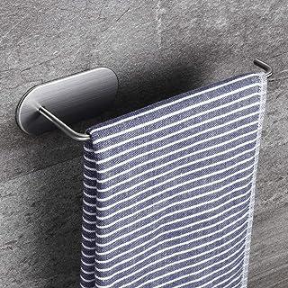 comprar comparacion ZUNTO 210mm Toallero Baño Adhesivo Toalleros Anilla Autoadhesivo Toalleros Barra de Para Baño y Cocina, 304 Acero Inoxidable