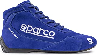 SPARCO 00126448AZ Racing Slalom Bottes Taille 48 Bleu RB 3.1
