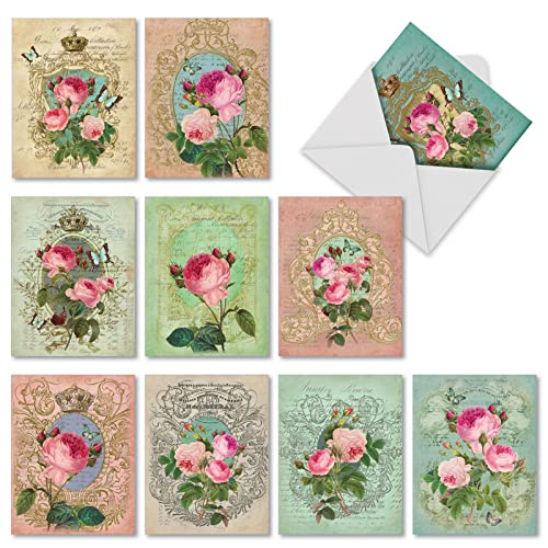 10 Note Cards W Envelopes