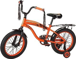 Benotto Bicicleta Easy Ride Cross Acero R16 1V Niño Frenos contra Pedal Ruedas Laterales