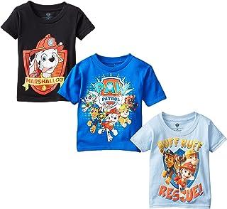 Nickelodeon- Playera de Paw Patrol, para niños, paquete de