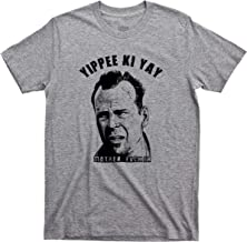 Die Hard T Shirt Yippee Ki Yay John McClane Hans Gruber Nakatomi Plaza Christmas Movie Tee